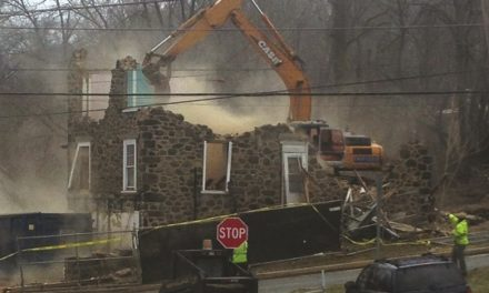Historic Aston property demolished