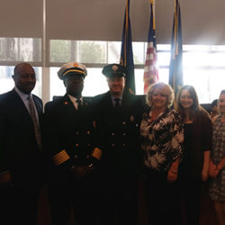 William Rigby was named Chester's new deputy fire commissioner.