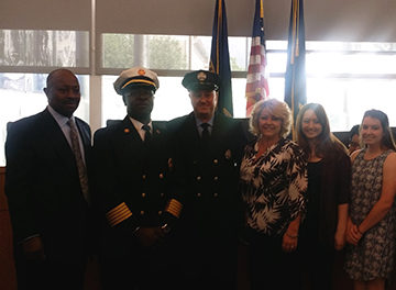 New deputy fire commish appointed