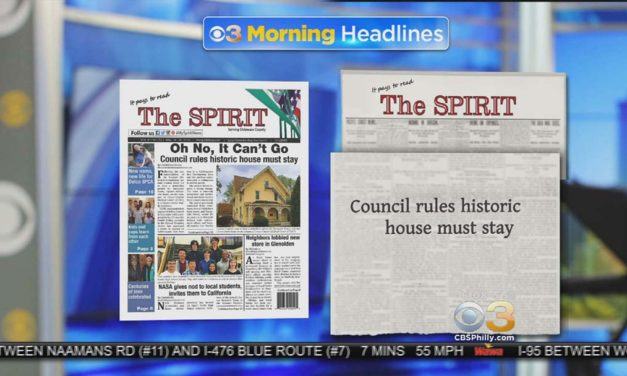 CBS-3 celebrates the strength of newspapers with morning feature