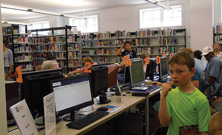 New Media-Upper Prov library opens