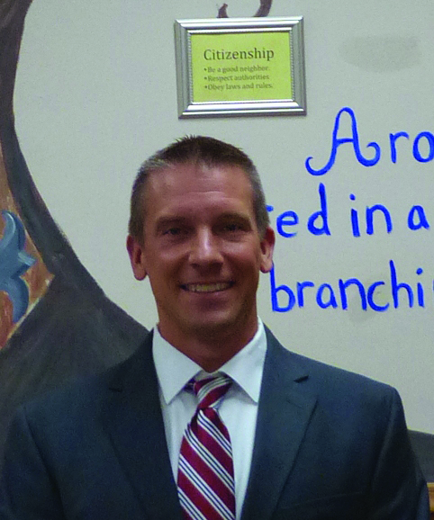 Brian Booher has been named the new principal of Aronimink Elementary School.