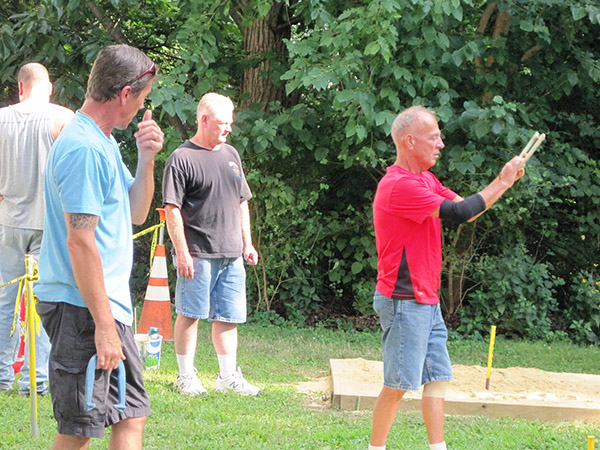 Horseshoes bring more than luck to area veterans group