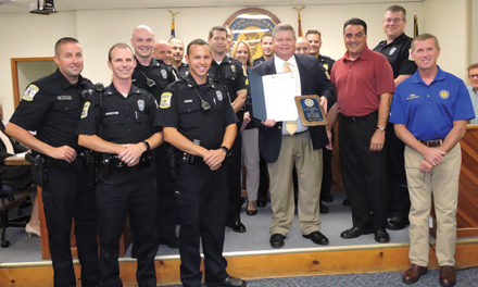 Entire police force named 2016 Citizens of the Year
