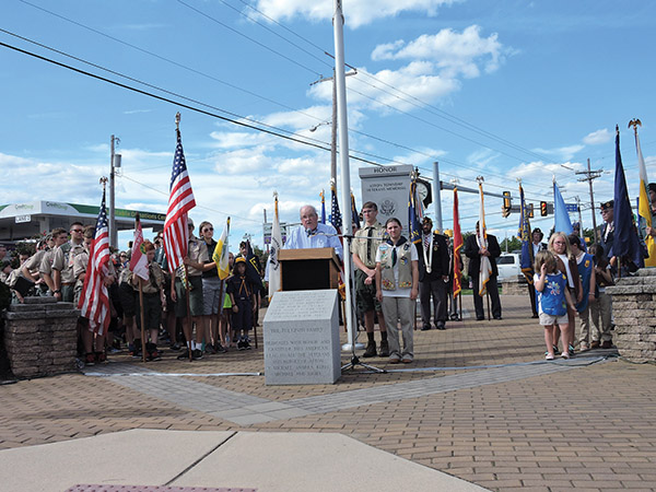 Remembering 9/11 with prayers, songs and speeches