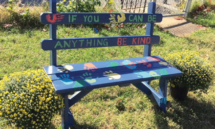 Leaders told how students created a 'Buddy-Bench'