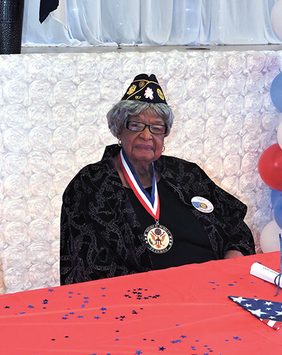 From Obama to Yeadon: Pioneering female WWII vet honored at local annual luncheon