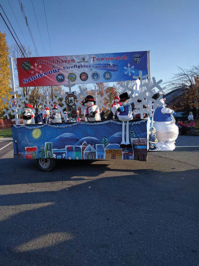 Brookhaven Town Watch participated in the parade.