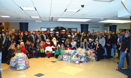Cruisers deliver toys to CCMC