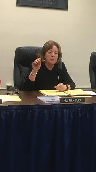 Jane Harbert was appointed to a three-year contract as superintendent of the William Penn School District.