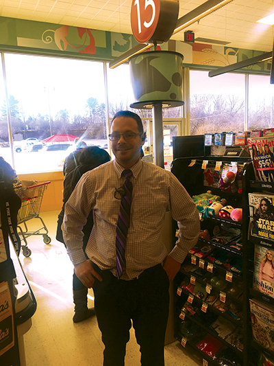 Paul Kourtis, Manager of  Shop Rite