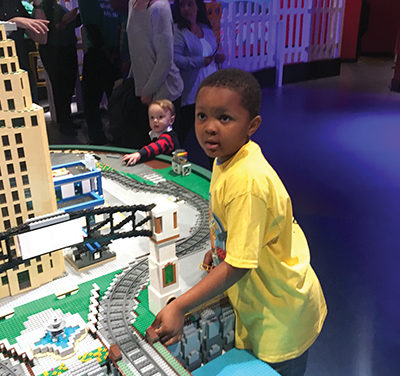 Local kids help bring Legoland to life