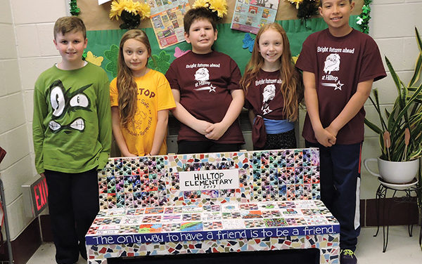 Buddy Bench introduced in Chichester School District