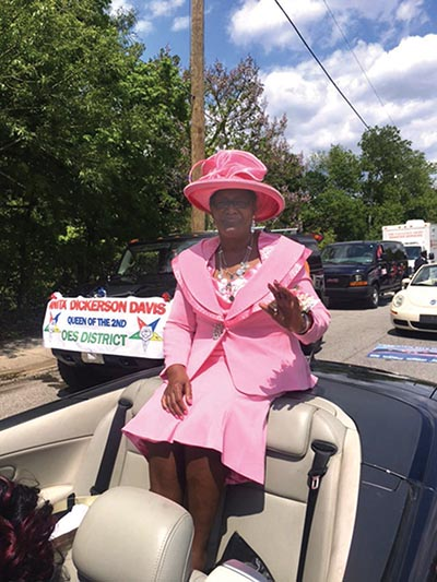Tanya King was celebrated as the parade's 2017 Mother of the Year.