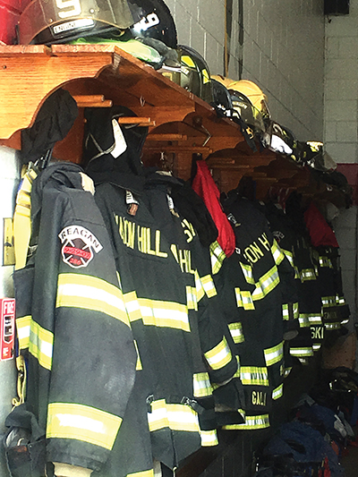 At one point, fire companies had so many volunteers they were hard pressed finding space for all the gear.