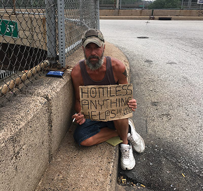 Often Given:  Help, Not Hope, Chester panhandler prays for more