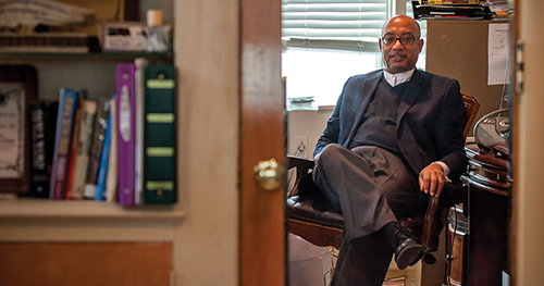 Rev. Dr. Bayard Taylor, senior pastor of Chester's storied Calvary Baptist Church, has abandoned his Republican candidacy for a seat on City Council, citing family and ministry obligations.