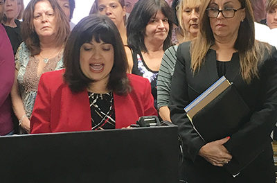 Delco Dem ripped for sexually-abusive computer app
