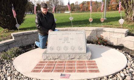 Honoring the Fallen; Trainer vets memorial was a dream realized
