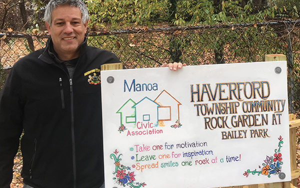 Haverford rocks out at peaceful garden