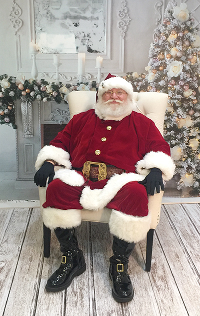 Glenolden resident Frank Naimoli has been Delaware County's Santa Claus for 40 years.