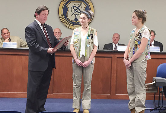 Local girl scout earns highest award