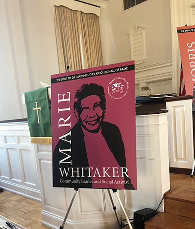 Marie Whitaker was a founder of Media Fellowship House and among the first 10 inductees into its Hall of Fame.